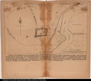 A Plan of Fort Sandusky, at Lower Sandusky...