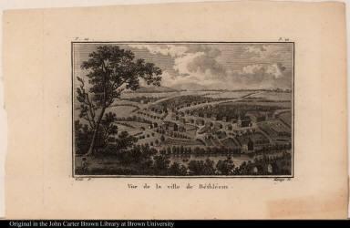 Vue de la ville de Béthléem.
