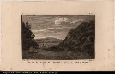 Vue de la Riviére de Patowmac, prise du mont-Vernon
