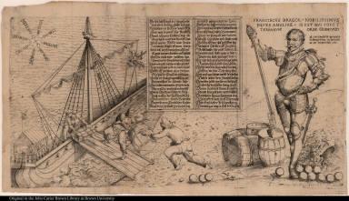 Franciscus Draeck Nobilissimus eques Angliae ...