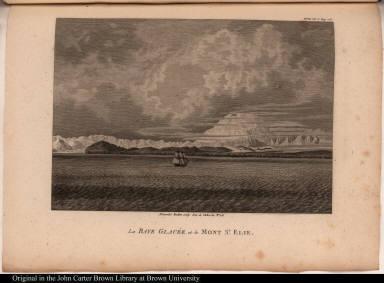 La Baye Glacée et le Mont St. Elie.