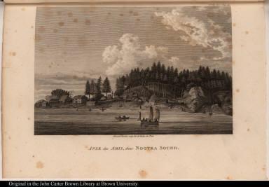 Anse des Amis, dans Nootka Sound.
