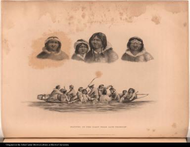 Natives of the Coast near Cape Thomson.