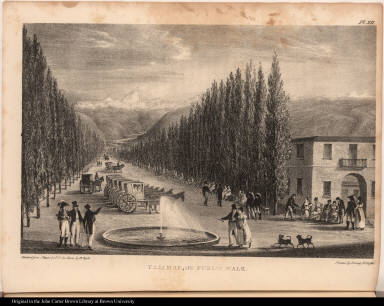 Tajamar or Public Walk.
