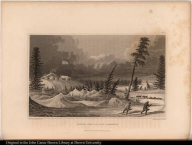 Winter View of Fort Franklin.