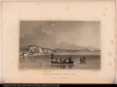 Esquimaux Encampment on Richard's Island.