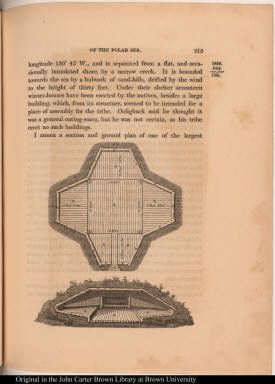 [Plan and Section of Inuit house on Atkinson Island]