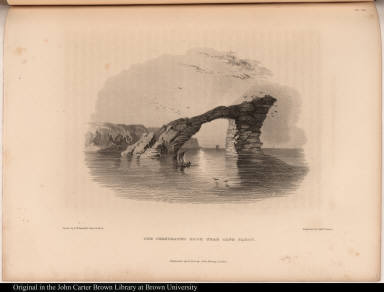 The Perforated Rock near Cape Parry.