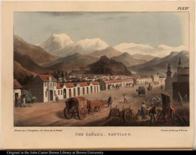 The Cañada. Santiago.