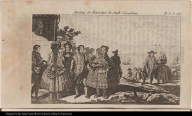 Kleidung der Einwohner der Stadt Conception.