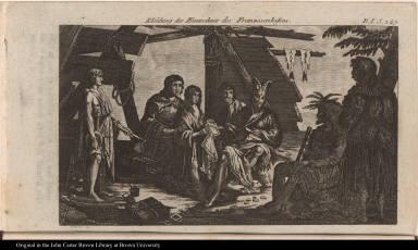 Kleidung der Einwohner des Franzosenhasens.