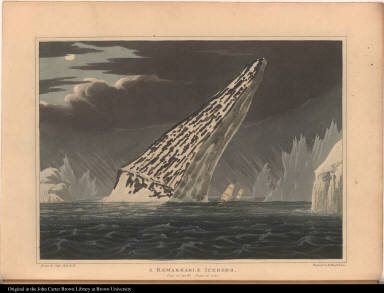 A Remarkable Iceberg. Lat. 70' 45 N. June 17, 1818.