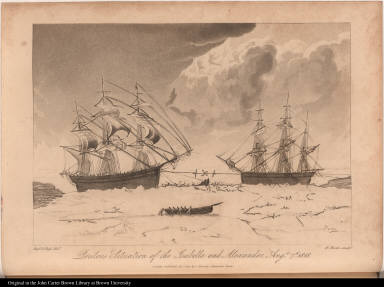 Perilous Situation of the Isabella and Alexander, Augt. 7th, 1818.