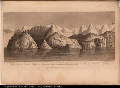 Cape Byam Martin, Possession Mount, and Cape Fanshawe._Discovered Septr. 1st, 1818 by H.M.S. Isabella.