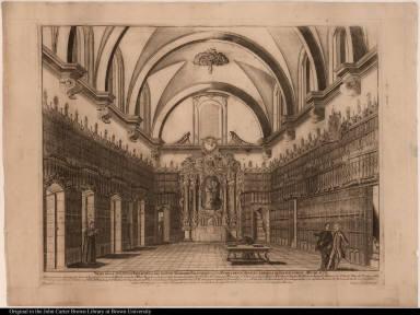 Mapa de la suntuosa Biblioteca del insigne Seminario Palafoxiano de la Puebla de los Angeles, erigida a beneficio comun Año de 1771.
