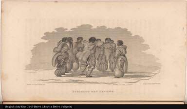 Eskimaux Man Dancing.