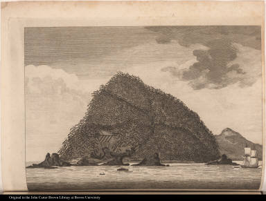 A View of Hippa Island, Queen Charlottes Isles.