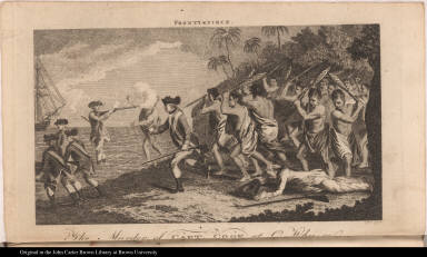 The Murder of Capt. Cook at O-Why-ee