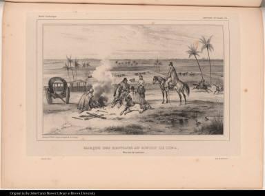 Marque des bestiaux au rincon de Luna. Province de Corrientes.