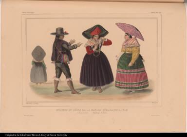Indiens et métis de la nation Aïmara, de La Paz et de ses environs. République de Bolivia.