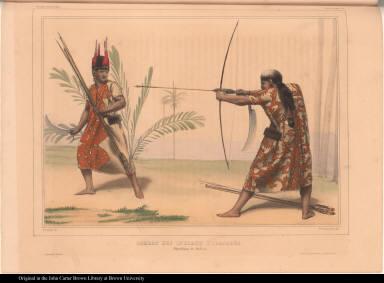 Combat des Indiens Yuracarès. République de Bolivia.