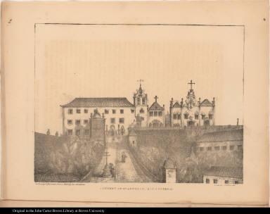 Convent of St. Antonio, Rio Janiero [sic]