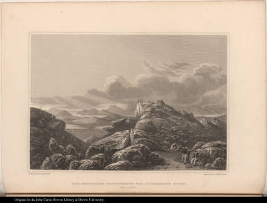 The Expedition Discovering the Coppermine River. Sept. 1. 1820