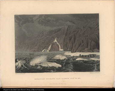 Expedition Doubling Cape Barrow, July 25, 1821.
