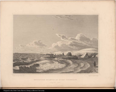 Expedition Encamped at Point Turnagain. Augt. 21. 1821.