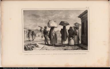 Femmes Cabocles (Sauvages Civilisés) Vivant du Métier de Blanchisseuses dans la Ville de Rio Janeiro.