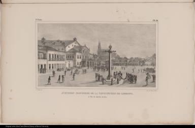 Acceptation Provisoire de la Constitution de Lisbonne, à Rio de Janeiro, en 1821.