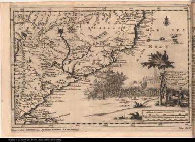 P. Carders Zee en Land Reyse na Brasil, Rio de la Plata en de Zuyd Zee.