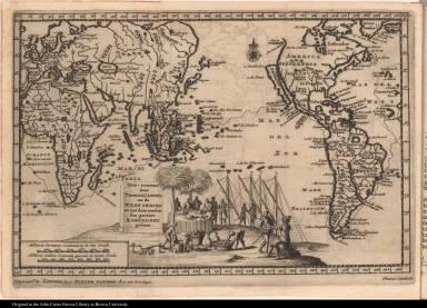 Zee-togten door Thomas Candys na de West Indien en van daar rondom den gantzen Aardkloot gedaan.