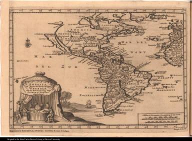 America, of Nieuw-Ontdekte Weereld, tot de Beschryving van Joseph d'Acosta afgebakend