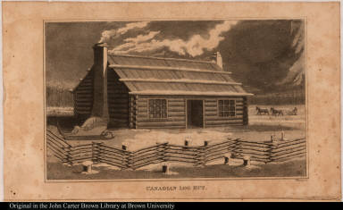 Canadian Log Hut.