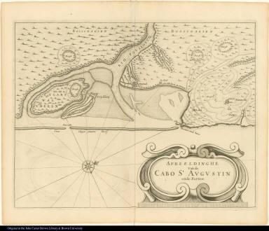 Afbeeldinghe vande Cabo St. Augustin ende Forten