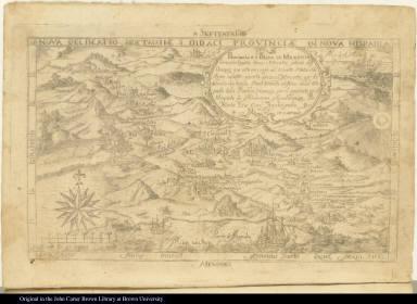 Nova delineatio s[t]rictissimae S. Didaci Provinciae in Nova Hispania