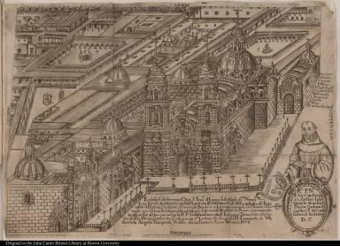 Ecclesia Celeberrimi Co[n]v[en]t[us], S. Franci[si] d[e] Lima ...