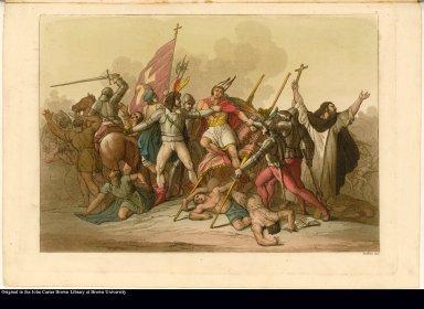 [Pizarro captures the Inca]