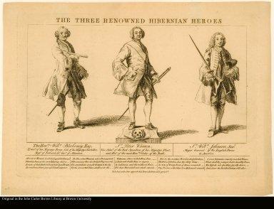 THE THREE RENOWNED HIBERNIAN HEROES