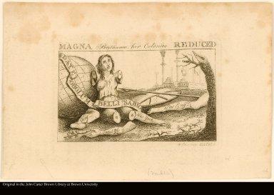MAGNA Britannia: her Colonies REDUCED.