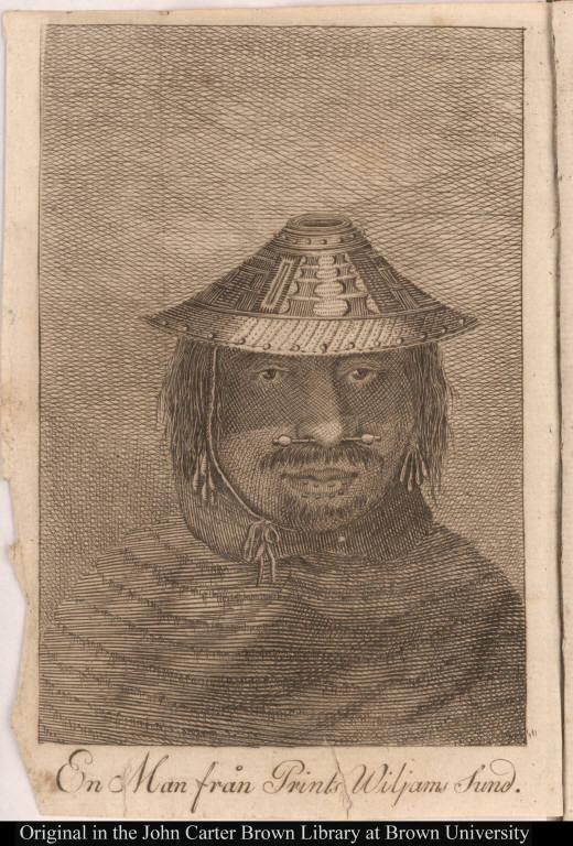 En Man från Prints Wiljams Sund.