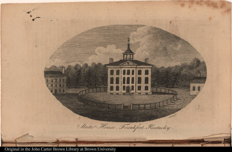 State-House, Frankfort, Kentucky.