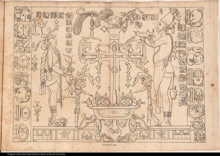 [Palenque relief. Accession of Chan-Bahlum]