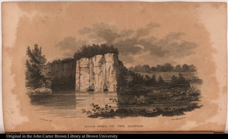 Rock Fort, on the Illinois