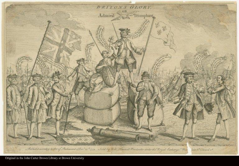 BRITONS GLORY, OR Admiral [Hawke] Triumphant.