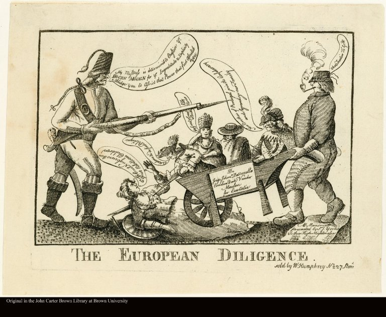 THE EUROPEAN DILIGENCE.
