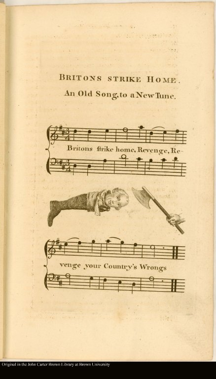 BRITONS STRIKE HOME. An Old Song, to a New Tune.