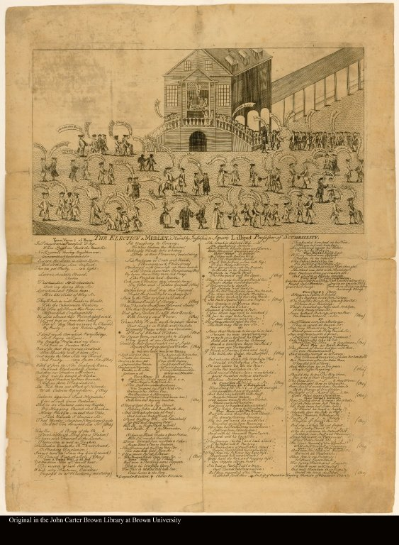 THE ELECTION. A MEDLEY. Humbly Inscribed, to Squire Lilliput Professor of SCURRILLITY.