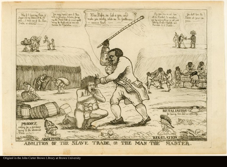 ABOLITION OF THE SLAVE TRADE, OR THE MAN THE MASTER